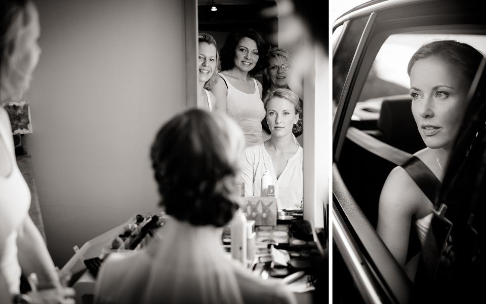 Braut und Trauzeugin- Frau Siemers- Hochzeitsfotografie