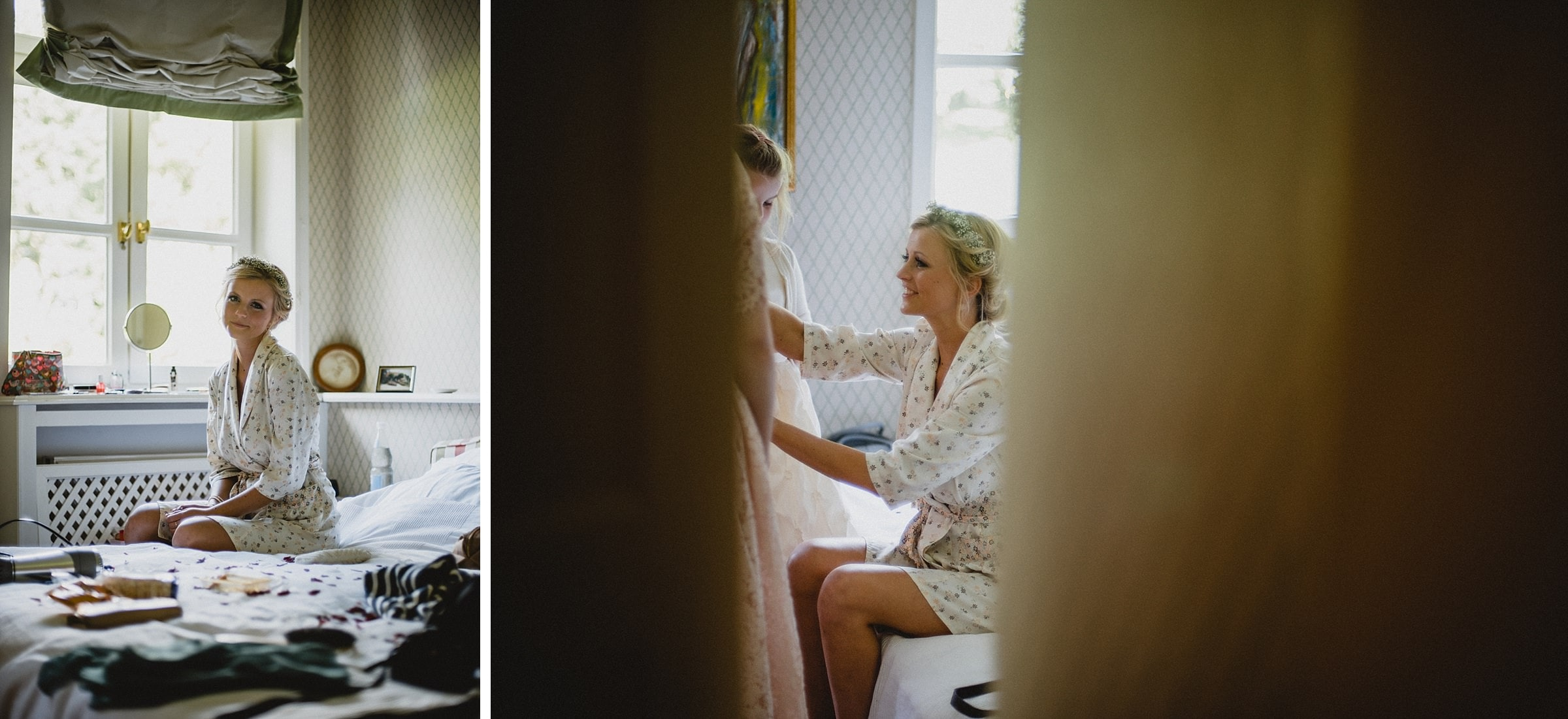 Hochzeitsfotografie Hamburg-Frau-Siemers-Gut Basthorst- Getting Ready Braut