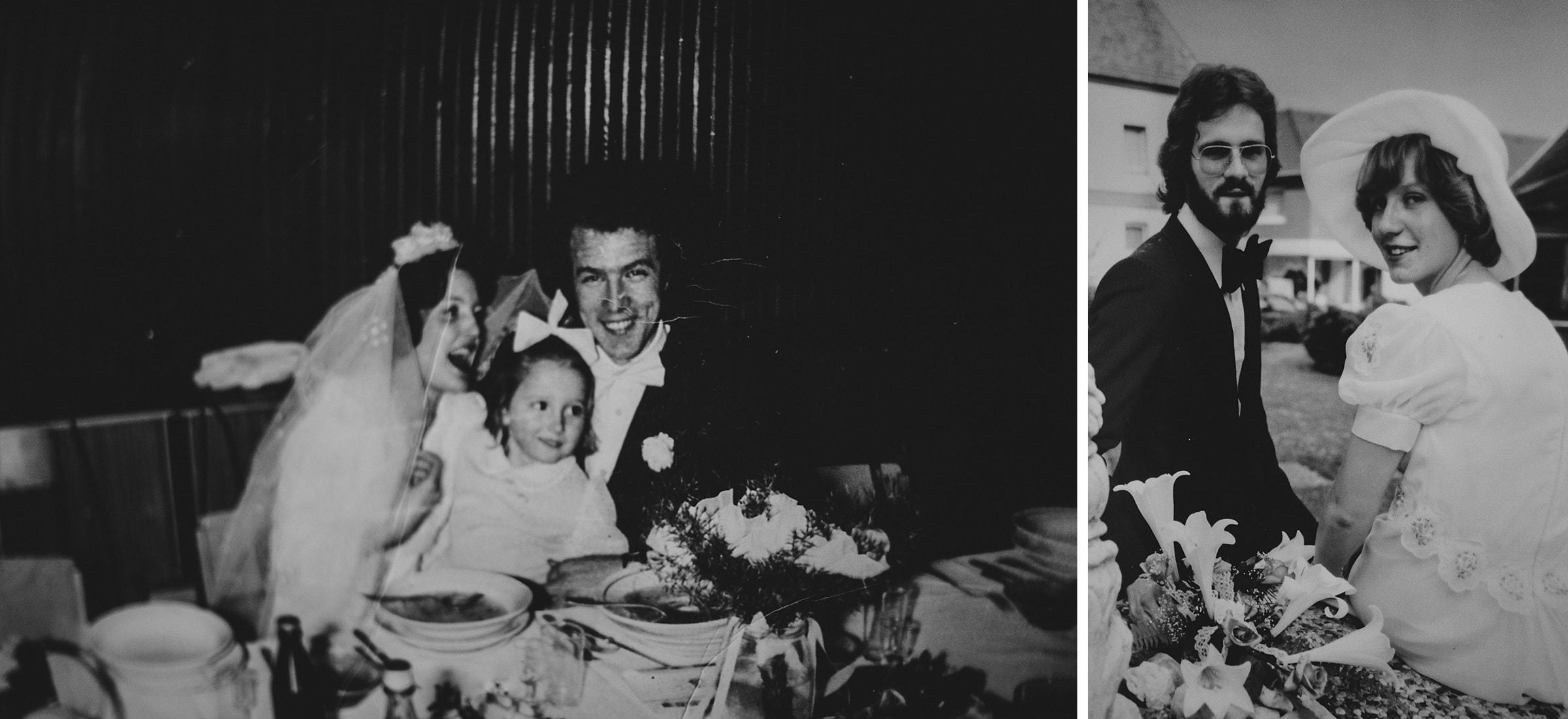 Hochzeitsfotografie Hamburg-Frau-Siemers-Gut Basthorst- Bilder der Eltern con damals