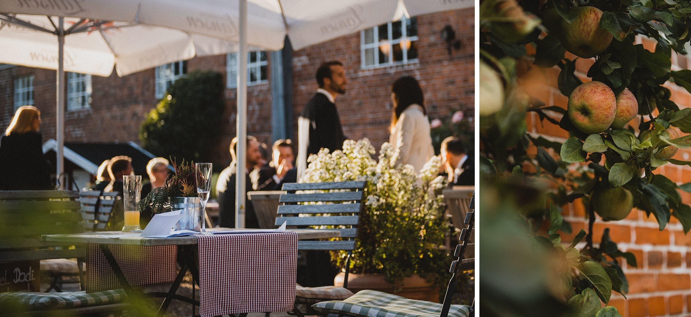 Hochzeitsfotografie Hamburg-Frau-Siemers-Gut Basthorst- Außenbereich Ambiente