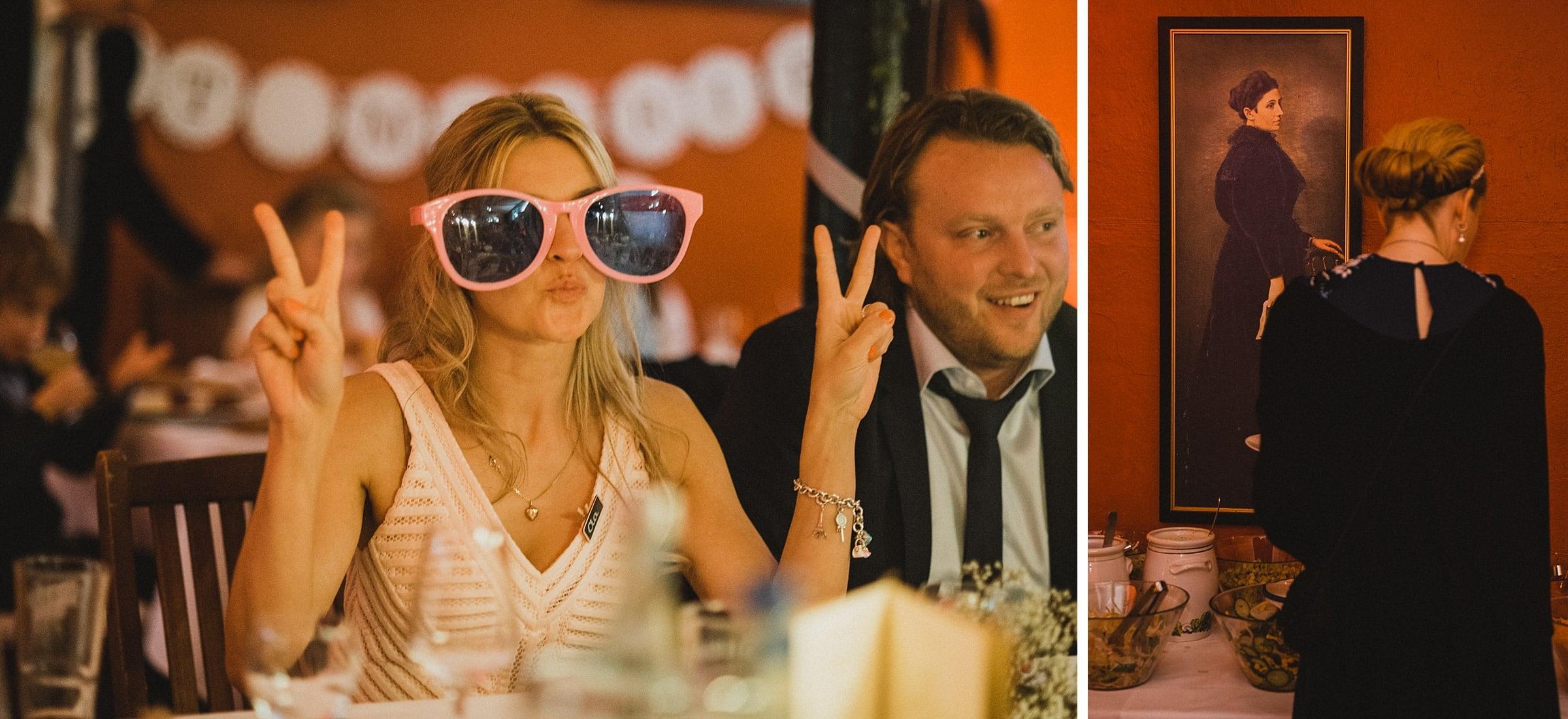 Hochzeitsfotografie Hamburg-Frau-Siemers-Gut Basthorst- Gäste spielen