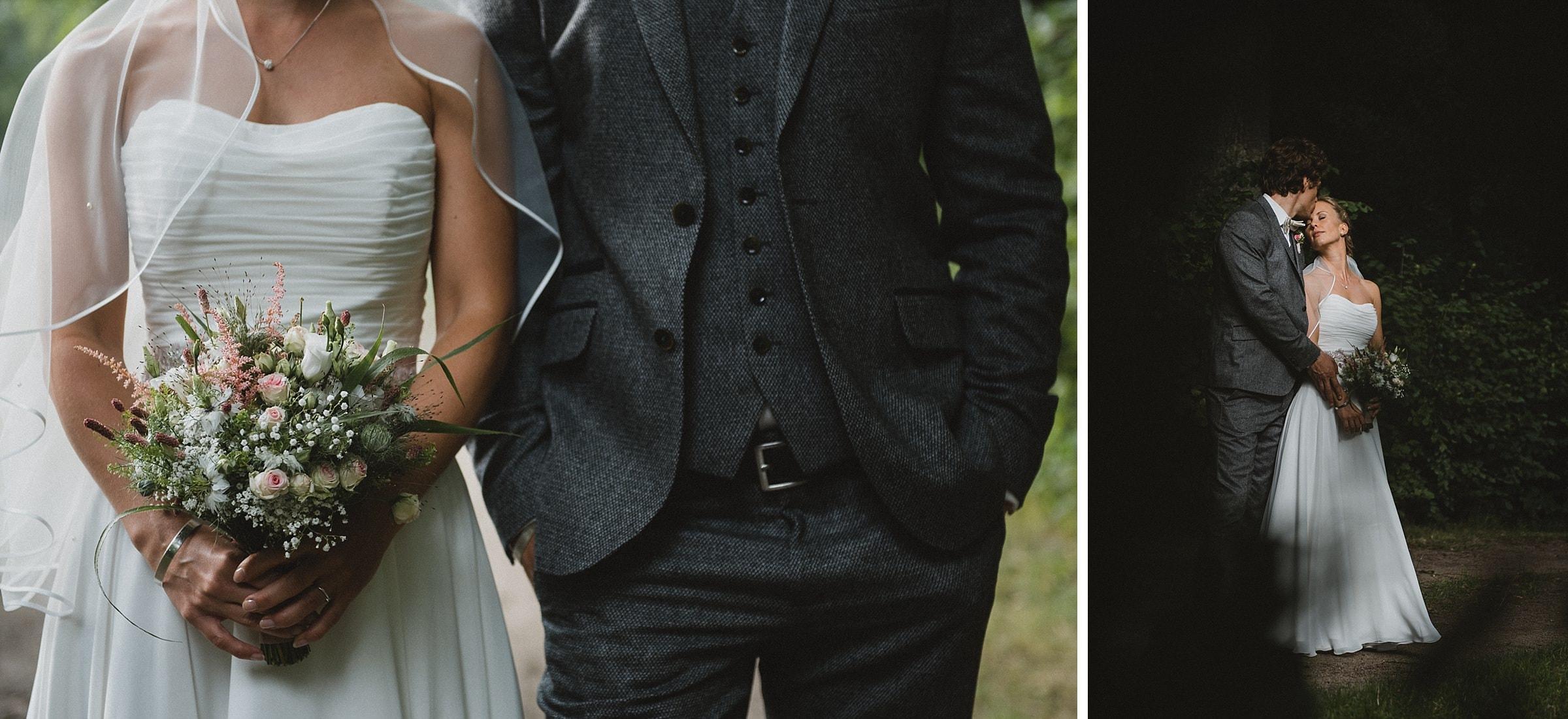 Hochzeitsfotografie-Frau-Siemers-Hof Weihe-Portrait Brautpaar