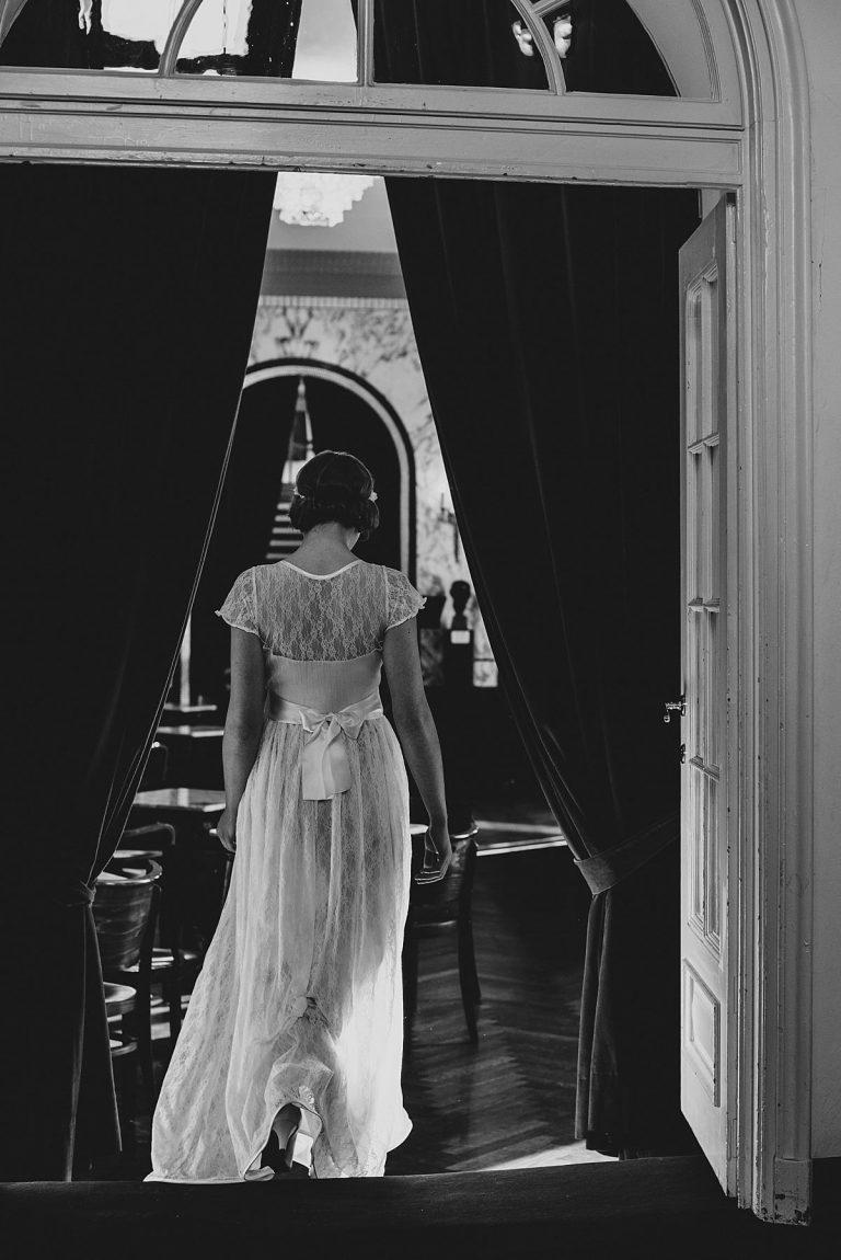 Brautmode Hamburg- AveevA- Schauspielhaus Hamburg- Editorial- Brautkleid aus Spitze