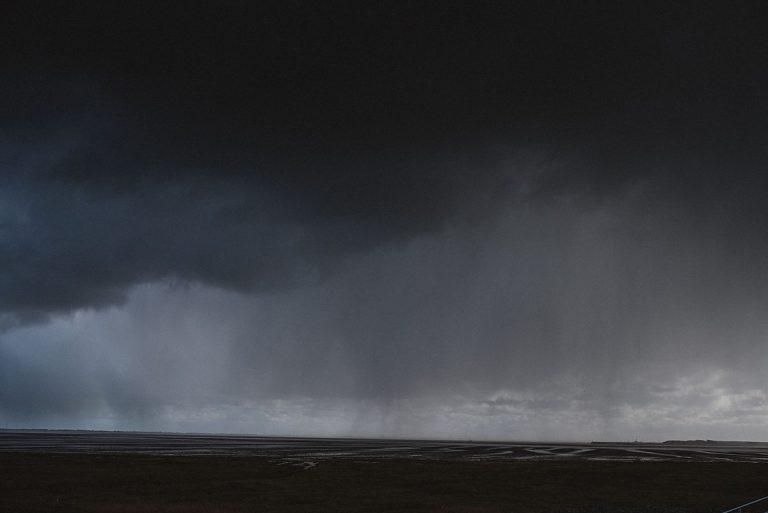 Wangerooge Junggesellinenabscihed- Wolken über Wangerooge