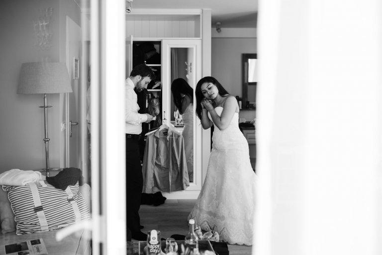 Sankt-Peter-Ording- Hochzeitsbilder- Getting Ready