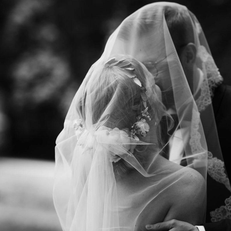 Hochzeitsfotografie Bremen- First Look Brautpaar.