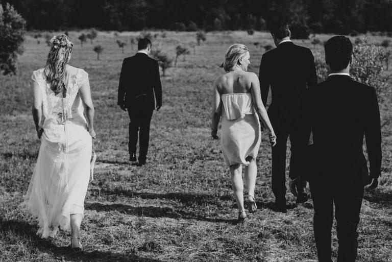 Hochzeitsfotografie Provence-Frau-Siemers-Gruppenbild mit Trauzeugen