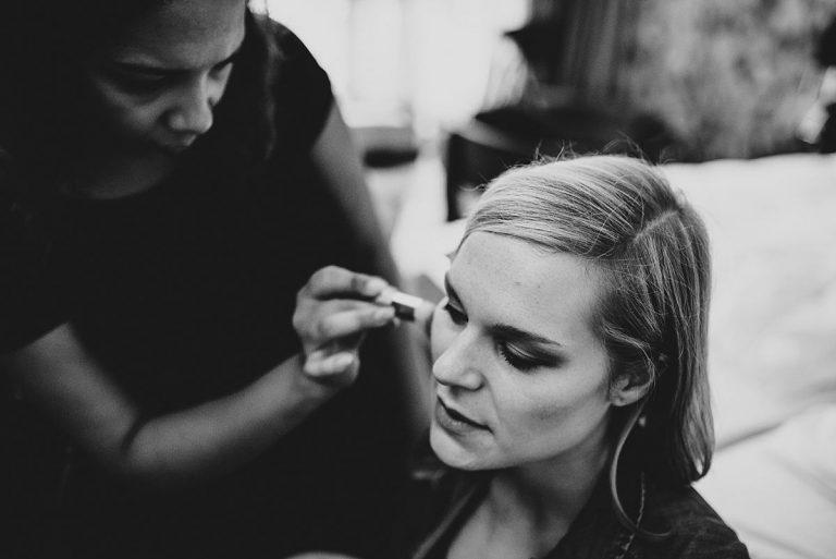 Hochzeitsfotografie Dorsten- Make up